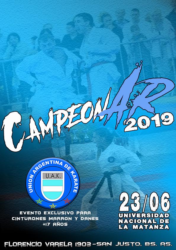 CAMPEONAR2019
